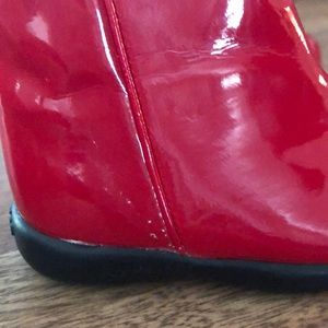 GAP Shoes - Baby GAP Red Patent Leather Boots (Infant Girls)